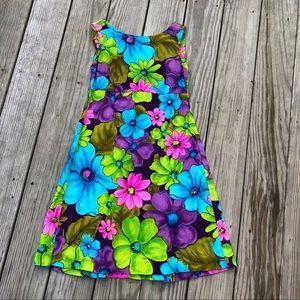 Vintage 60's Hawaiian dress